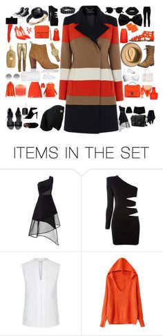 """Thang"" by moongal200492 on Polyvore featuring art, stripes and thing"