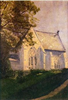 Church at Blainville - Marcel Duchamp