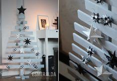 Wooden Christmas tree - Esmeralda's