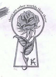 Another Dark Tower tattoo idea, 19 on the other side of the stem from ka would be cool