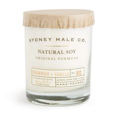 Sydney Hale Co. Soy Candle