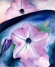 Georgia O'Keeffe: Petunia No. 2, 1924, Oil on Canvas.