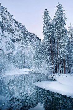 Yosemite Nat'l Park, CA in winter