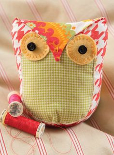 Owl Stuffie (Free Sewing Pattern) - Craftfoxes