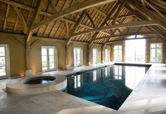Stunning Indoor Swimming Pool in Oxford