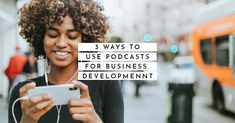 Content Marketing - 3 Ways to Use Podcasts for Business Development Free Advice, Lawyers, Personal Branding, Content Marketing, Social Media, Business, Lawyer, Store, Social Networks