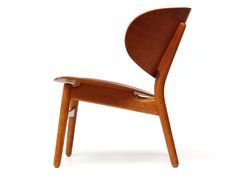 The Shell Chair by Hans Wegner | From a unique collection of antique and modern lounge chairs at https://www.1stdibs.com/furniture/seating/lounge-chairs/