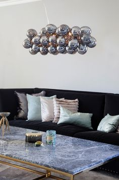 By Rydéns Gross Bar taklampe - Hjem & innredning - Ellos.no Scandinavian Table Lamps, Scandinavian Home, Best Desk Lamp, Globe Lamps, Unique Lamps, Glass Globe, Lamp Design, Pendant Lamp, Interior Inspiration
