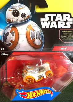 Hot Wheels Star Wars BB-8 Replica Toy Car The Force Awakens Rogue One Character