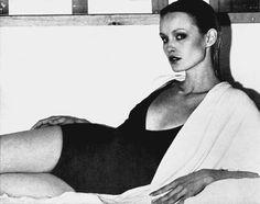 Jessica Lange in her modeling days (70's)