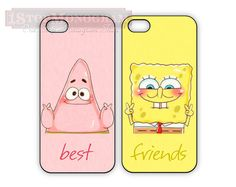 Sponge bob Best Friend cases for iPhone or Galaxy, Patrick and Spongebob, BFF iPhone case Samsung Galaxy case, Two Case Set on Etsy, $35.36 AUD
