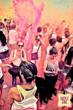 Impressions from the @HOLI ONE Colour Festival in Berlin #holione #holioneworld #holi #holioneberlin #berlin #festivalofcolours