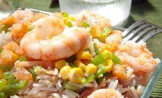 Mets et Vins - Dishes and Wines - Salade de riz - Plats d'été - En accompagnement du Prestige Rosé Brut LES CORDELIERS