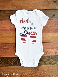 Baby Boy Jumpsuit France American Flag Hearts Love Baby Rompers