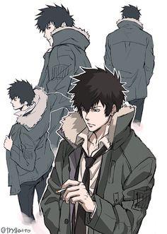 """sugawarakatashi: """"@trygatto Art by KKS Manga Artist Natsuo-Sai Trygatto """""""