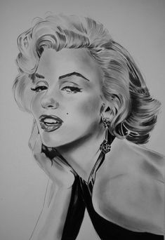 Marilyn Monroe by umberto | This image first pinned to Marilyn Monroe Art board, here: http://pinterest.com/fairbanksgrafix/marilyn-monroe-art/ || #Art #MarilynMonroe