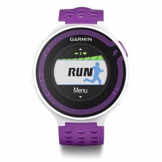Garmin Forerunner 220 GPS Watch White and Red Heart Rate Bundle