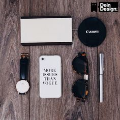 """MORE ISSUES THAN VOGUE"" Case by DeinDesign.com. Link zum Design >> http://designskins.com/de/designs/statements/more-issues-than-vogue || #deindesign #designcase #dd #handycase #handycover #handyhuelle #smartphone #iphone #phonecase #case #cover #huelle #bag #tasche #beautiful #cute #instagram #outfit #style #fashion #accessoire #watch #canon #sunglasses #sonnebrille #concealer #mascara"