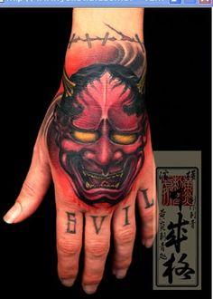 shige tattoo on the hand
