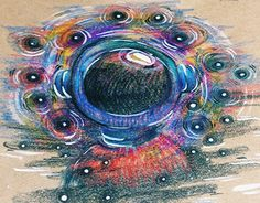 """Check out new work on my @Behance portfolio: """"Color pencils + craft paper"""" http://on.be.net/1IqLVTi"""