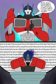 ANGRY FEMMES--Optimus Prime vs. Orion Pax by Ninja-FormersJunkie ...