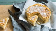 Sweet semolina filo pie (bougatsa) recipe : SBS Food Bougatsa is, arguably, one of Greece's greatest gifts to the culinary world. Layers of buttered filo encase a sweet semolina custard which is baked into a golden flaky pie.