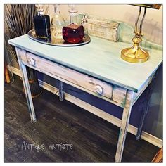 Antique Furniture on a budget, Chalk paint retailer Chalk Paint, Antique Furniture, Entryway Tables, Antiques, Painting, Home Decor, Art, Antiquities, Art Background
