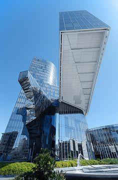 Torre Mare Nostrum - Gas Natural headquarters in Barcelona, another impressive office building!