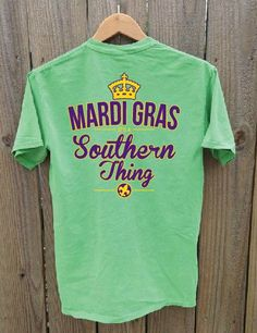 Mardi Gras It's A Southern Thing by ShopFootballTees on Etsy, $27.00
