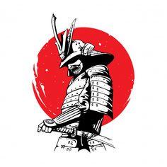 Japanese Art Samurai, Japanese Mask, Japanese Warrior, Japanese Artwork, Japanese Tattoo Art, Japanese Tattoo Designs, Samurai Drawing, Samurai Artwork, Samurai Anime