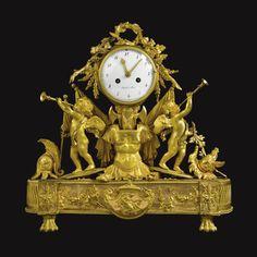A Louis XVI ormolu mantel clock circa the dial signed Ridel a Paris. Affordable Furniture Stores, Top Furniture Stores, Furniture Logo, Furniture Market, Plywood Furniture, Furniture Decor, Furniture Design, Wall Clock Brands, Wall Clock Online