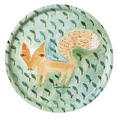 New Donna Wilson Fox in the Leaves Tray