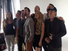 Falling Skies cast goofing around at #SDCC 2013
