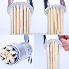 manual noodle press - Google Search Spiral Vegetable Slicer, Manual Juicer, Juicers, Vegetables, Noodle, Blade, Google Search, Kitchen, Noodles