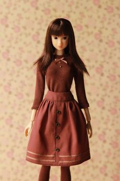 Outfit for Momoko doll, Pullip, J-Doll, Unoa Quluts Light fashion clothes…