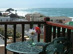 Self catering accommodation, Kalk Bay, Cape Town spectacular sea views from the balcony of the guesthouse Fishing Villages, Cape Town, Bed And Breakfast, Balcony, Catering, Sea, Table Decorations, House, Home Decor