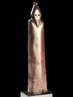 A strange pharaoh - This statue of the pre-dynastic period may be the first known depiction of a pharaoh. At the time of Nagada (the name of a discovery at the site of Upper Egypt), around 4000 BC. This statue was found in Gebelein, south of Luxor.