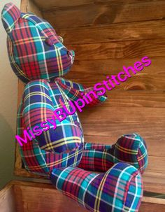 Memory Bear by MissyBUpinStitches on Etsy