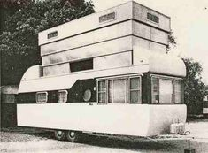 Vintage mobile home | Space Queen 8x26 Atlas Mobile Homes | Factory Built History | 1952