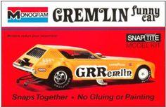 Monogram Gremlin Funny Car