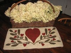 Floral Heart Pattern or Kit