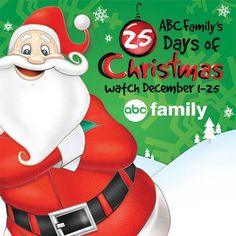 ABC Family's 25 Days of Christmas Specials Schedule 2014 - SO many great classics and fun newer movies too. Set your DVR!