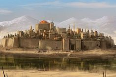 Landscape. Look, it's Maxis again. Beautiful structure of the city. Exactly representing my imagination.: