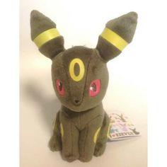 Pokemon 2013 Banpresto UFO Game Catcher Prize I Love Eievui Series Umbreon Plush Toy