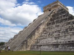 El Castillo, Chichen Itza, Mexico -- climbed to the top