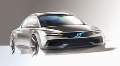 volvo concept by David Schneider