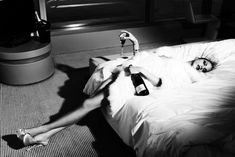 Sexy and decadent - two of my favorite things!   by Helmut Newton