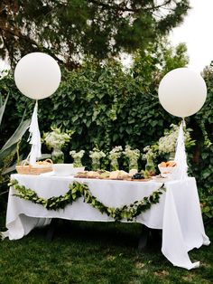 How to Plan a French-Inspired, All-White Baby Shower | Entertaining - DIY Party Ideas, Recipes, Wedding & Baby Showers | DIY