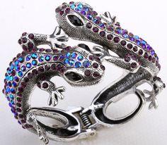 Jeweled Lizard Cuff (8 Colors)