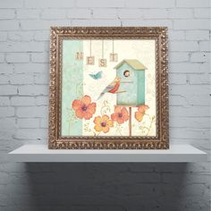 Welcome Home IV by Daphne Brissonnet Framed Painting Print